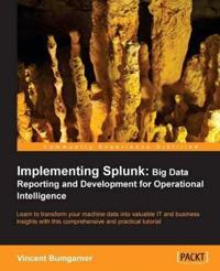 Implementing Splunk: Big Data Reporting and Development for Operational Intelligence