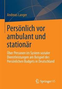 Pers nlich VOR Ambulant Und Station r
