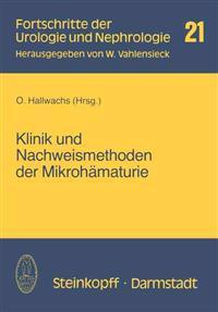 Klinik Und Nachweismethoden Der Mikrohamaturie