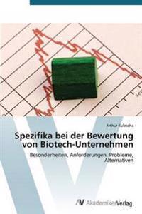 Spezifika Bei Der Bewertung Von Biotech-Unternehmen