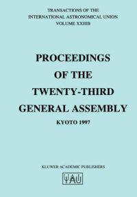 Proceedings of the Twenty-Third General Assembly