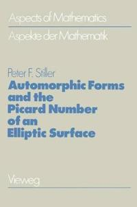 Automorphic Forms and the Picard Number of an Elliptic Surface