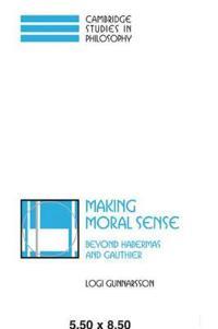 Making Moral Sense