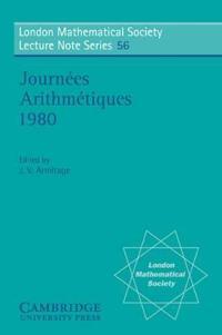 Journees Arithmetiques 1980