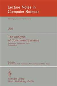 The Analysis of Concurrent Systems