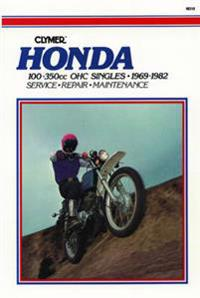 Honda 100-350Cc Ohc Singles, 1969-1982