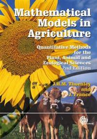 Mathematical Models in Agric