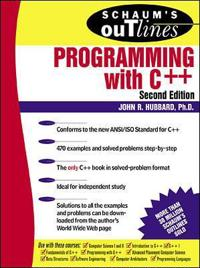 Schaum's Outline of Theory and Problems of Programming With C++