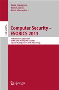 Computer Security -- ESORICS 2013