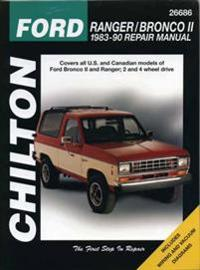 Chilton's Ford Ranger/Bronco II 1983-90 Repair Manual