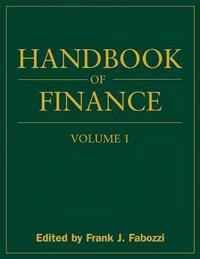 Handbook of Finance, Financial Markets and Instruments