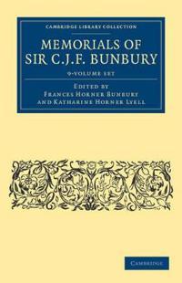 Memorials of Sir C. J. F. Bunbury