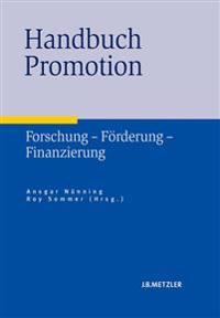 Handbuch Promotion: Forschung Forderung Finanzierung