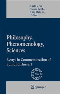 Philosophy, Phenomenology, Sciences