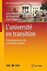 L'Universit  En Transition