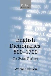 English Dictionaries, 800-1700