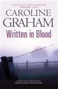 Written in blood - a midsomer murders mystery 4