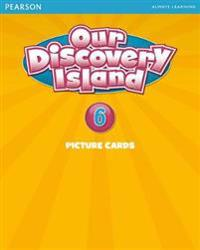 Our Discovery Island American Edition Picture Cards 6