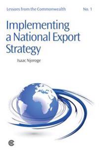 Implementing a National Export Strategy