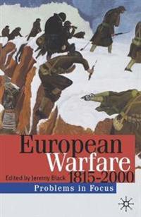 European Warfare1815-2000