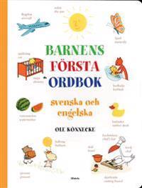 Barnens första ordbok : svenska och engelska : över 400 ord