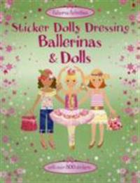 Sticker Dolly Dressing Bind-Up Ballerinas and Dolls