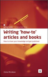 Writing How-To Articles & Books
