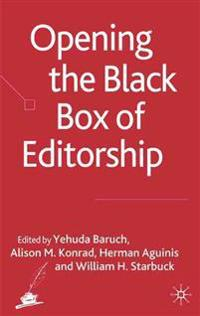 Opening the Black Box of Editorship
