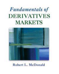 Fundamentals of Derivative Markets