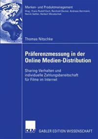 Praferenzmessung in der Online Medien-Distribution
