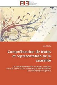 Comprehension de Textes Et Representation de la Causalite