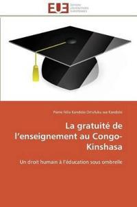 La Gratuit� de L Enseignement Au Congo-Kinshasa