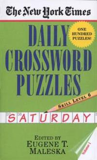 New York Times Daily Crossword Puzzles (Saturday),