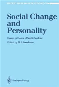 Social Change and Personality