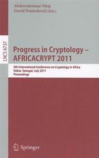 Progress in Cryptology -- AFRICACRYPT 2011