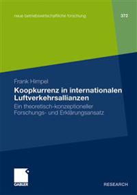 Koopkurrenz in Internationalen Luftverkehrsallianzen