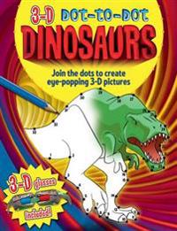 3-D Dot-to-Dot Dinosaurs