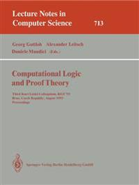 Computational Logic and Proof Theory