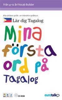 Mina första ord. Tagalog