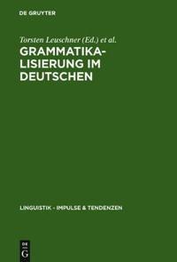 Grammatikalisierung Im Deutschen
