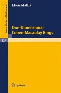 One-Dimensional Cohen-Macaulay Rings