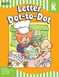 Letter Dot-to-Dot, Grade PreK-K