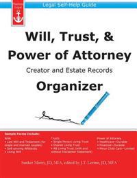 Will, Trust, & Power of Attorney Creator and Estate Records Organizer