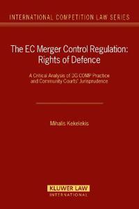 The Ec Merger Control Regulation
