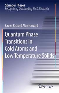 Quantum Phase Transitions in Cold Atoms and Low Temperature Solids