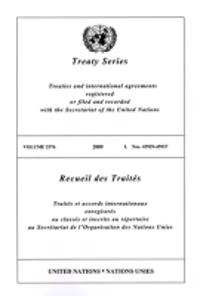 Treaty Series 2576 2009 I