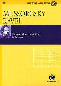 Mussorgsky - Ravel: Pictures at an Exhibition: For Orchestra [With CD (Audio)]