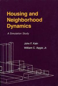 Housing and Neighborhood Dynamics