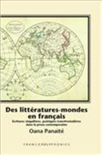 Des litteratures-mondes en francais