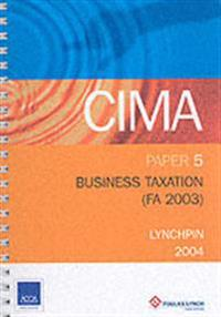 Business taxation fa 2003 p5